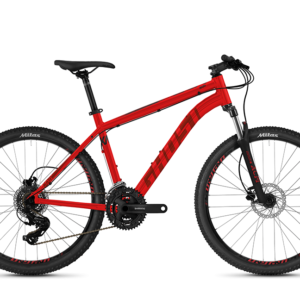Horský bicykel - GHOST Kato Base 26 Red/Dark Red/Black 2021