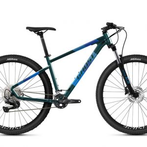 Horský bicykel - GHOST Kato Advanced Dark Green/Petrol Blue 2021