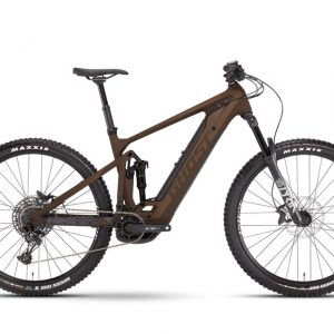 Elektrobicykel Ghost E-Riot Trail CF Advanced - Chocolate / Brown