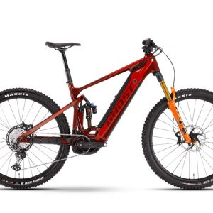 Elektrobicykel Ghost E-Riot Trail CF Pro - Dark Red / Orange